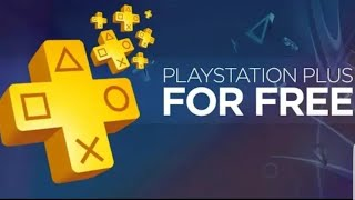 Ps4 - HOW TO GET FREE PS PLUS ( Last *FREE* Working Method ) WORKING 100% *2018*
