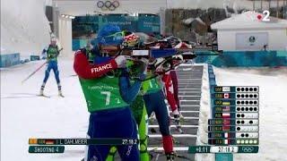 JO 2018 : Biathlon - Relais mixte : Anais Bescond limite la casse sur son tir debout