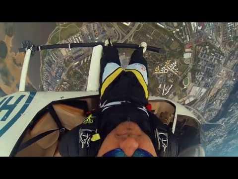 Skydiving fun in Helsinki
