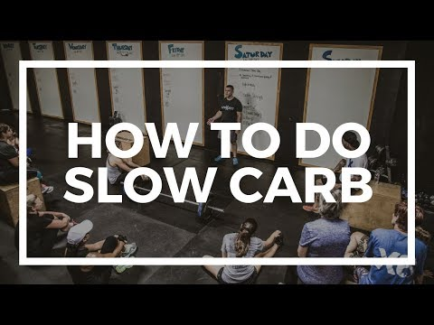 How To Slow Carb New Year-New You 2018
