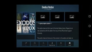 2019 June!!! New update How to install Exodus Redux addon in 18.2 leia