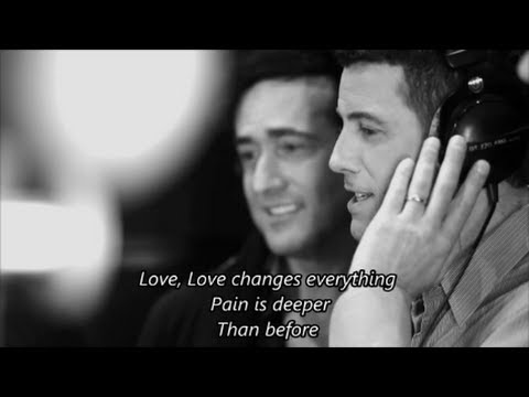 IL DIVO - Love Changes Everything with Lyrics (2nd ver.)