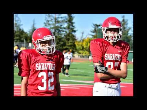 Saratoga JV Football Highlights 2016