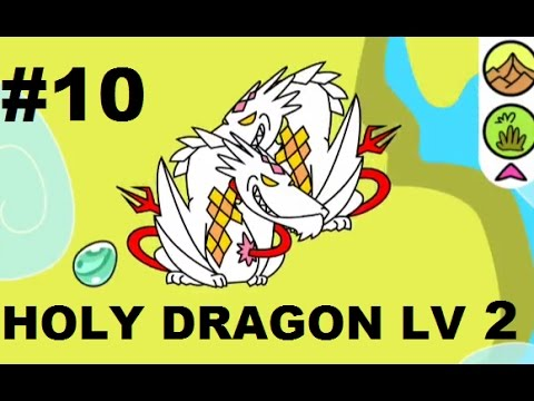 Dragon Evolution Android Gameplay #10 - HOLY DRAGON LV 2 !!! NEW HOLY AURA