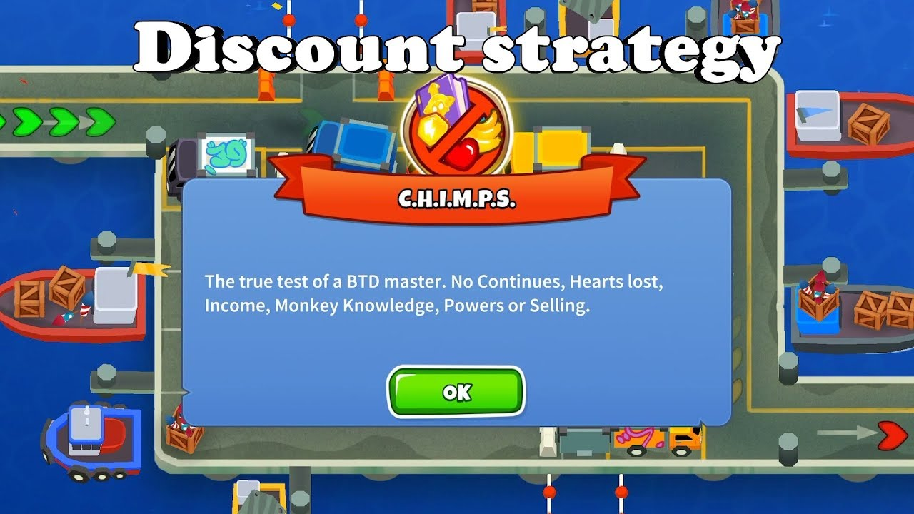 Bloons TD 6 - Cargo CHIMPS - The discount strategy (BTD6 v11)