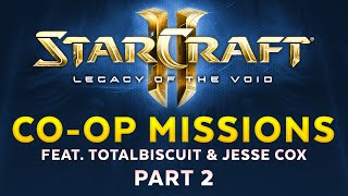 Legacy of the Void - Co-op Mode feat. TotalBiscuit & Jesse Cox - Part 2 [Sponsored]