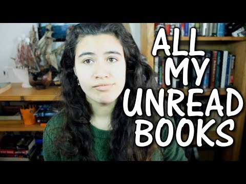 ALL MY BOOKS I HAVEN'T READ {TBR} - 2017