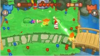 Fat Princess Fistful of Cake Gameplay PSP