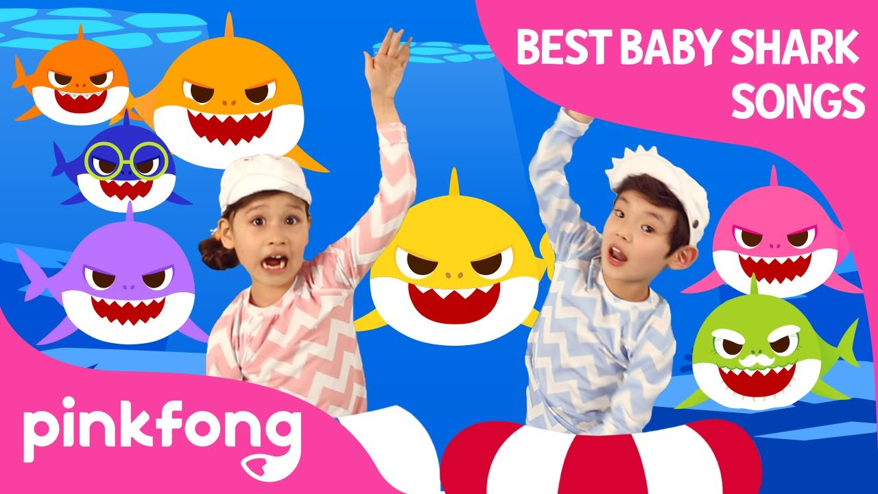 Baby Shark Dance and more | +Compilation | Baby Shark Swims to the TOP | Pinkfong Songs for Children