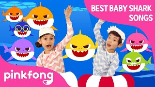 Download lagu Baby Shark Dance and more | +Compilation | Baby Shark Swims to the TOP | Pinkfong Songs for Children