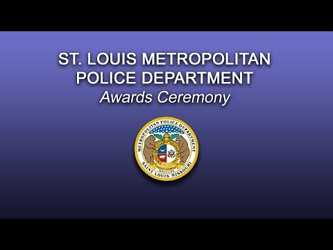 St. Louis Metropolitan Police Department 2016 Awards Ceremony