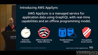 Rapid mobile API development with GraphQL and Amazon AppSync - Voxxed Days Singapore 2018