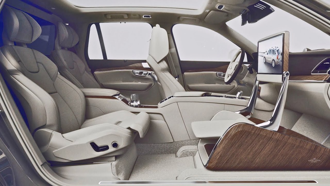 2015 Volvo Xc90 Excellence Lounge Concept Youtube