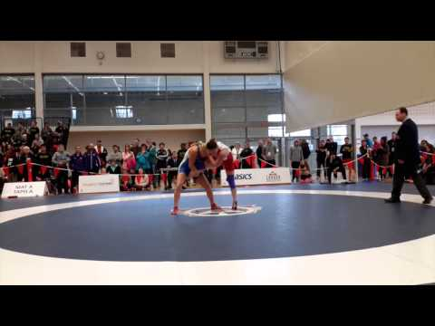 2015 Senior National Championships: 58 kg Alyssa Medeiros vs. Liz Sera