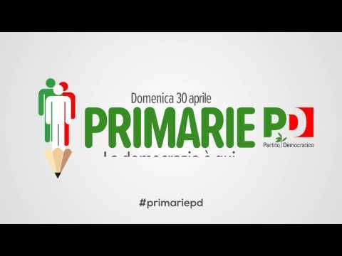 Scegli il segretario del Partito Democratico: domenica 30 aprile vota alle #primariepd