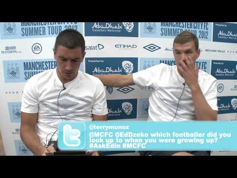 EXCLUSIVE #askedin - Edin Dzeko answers the questions from twitter