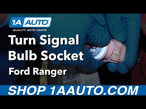 How to Replace Turn Signal Bulb Socket 98-12 Ford Ranger