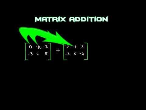 Hindi : Theorem 2 : Properties of Matrix Addition - Algebra of Matrices - Ch 3 - CBSE 12th Math from YouTube · Duration:  8 minutes 1 seconds