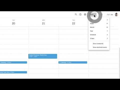 How to: Use Day view in Calendar