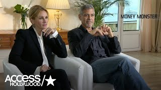 Julia Roberts & George Clooney Talk 'Money Monster' & Share 'Oceans 12' Memories | Access Hollywood
