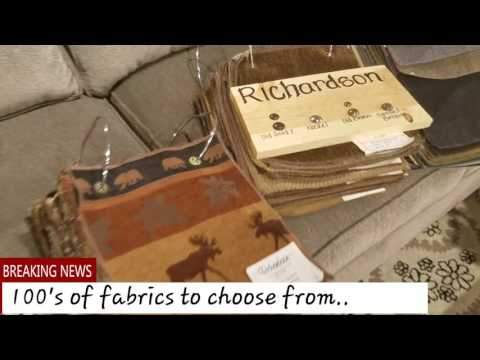 Customized furniture at Mega Furniture (video made by Carlos Torres)
