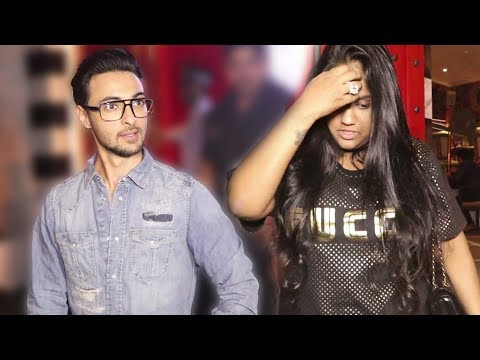 Arpita Khan - Aayush Sharma Leave Separately From A Restaurant | FIGHT?