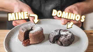Making Domino's Chocolate Lava Cake At Home | But Better