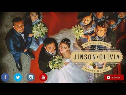 Jinson ❤ Olivia Kerala Anglo Indian Wedding Cinematic Highlights, christian wedding kerala