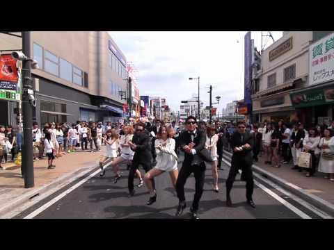 結婚式余興 GANGNAMSTYLE (KYGfamily) 大宮駅東口