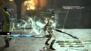 Final Fantasy XIII PC/Steam 1080p Gameplay (Resolution fix) i5 760 + GTX 650ti