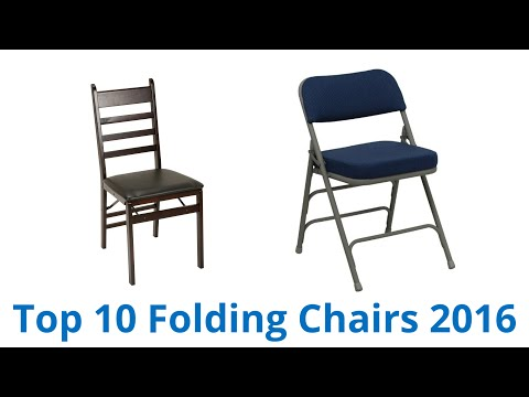 10 Best Folding Chairs 2016