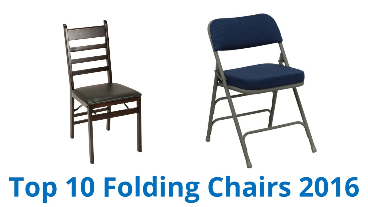 Where To Buy Folding Chairs 10 Best Folding Chairs 2016 Youtube