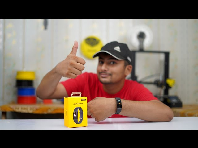 Realme Band Unboxing Review | Water Proof Best Fitness in Budget Urdu Hindi