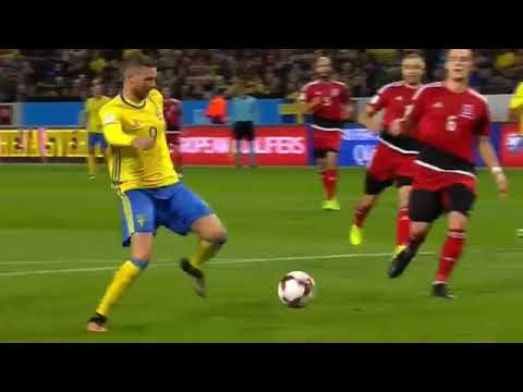 Sweden vs Luxembourg 8-0 All goals & Highlights (World Cup Qualifiers) 07-10-2017