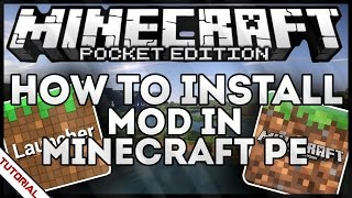 [iOS] HOW TO INSTALL MODS in Minecraft Pocket Edition (iPhone, iPad, iPod)