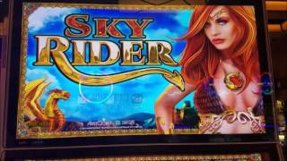 High Limit Slots Live Play 🎰  Sky Rider Slot Machine & Sevens