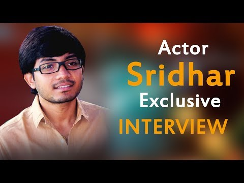 Actor sridhar Full Interview || Frankly Talking || Screenshot Movie