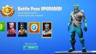 Fortnite SEASON 9 BATTLE PASS SKINS & ITEMS EARLY LEAK! (Season 9 Battle Pass LEAKED)