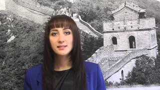 Преподаватель китайского языка - Анастасия Совкова(Школа иностранных языков