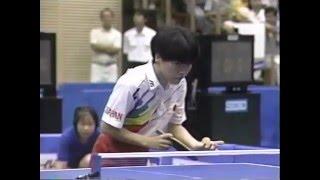 Table Tennis 2nd IOC League match Fumiko Yamashita vs Deng Yaping thumbnail