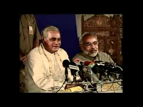 Atal ji actually said, Narendra Modi is following his Rajdharma