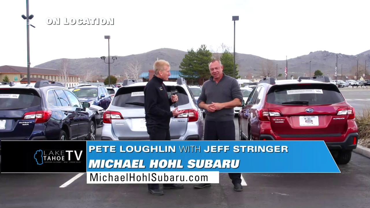 Michael Hohl Subaru >> Take 1 Tahoe Today On Location At Michael Hohl Subaru With Pete Loughlin And Jeff Stringer