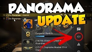 CS:GO PANORAMA UPDATE - Player Volume Control / Decoy Changes & More