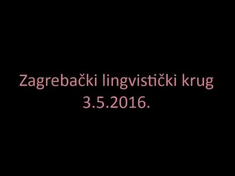 M Kapovic Povijest Hrvatske Akcentuacije Fonetika Youtube