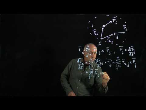 34.2 Torque Causes Angular Momentum to Change - System of Particles