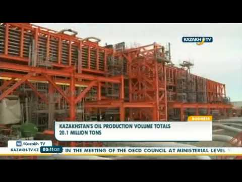 Kazakhstan's oil production volume totals 20.1 mln tons - Kazakh TV