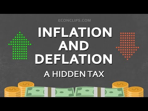 Inflation and deflation #hidden tax