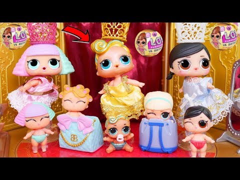 LOL Surprise Dolls Lil Sisters visit Ballet Theatre