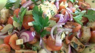 Panzanella Salad - Nicko's Kitchen