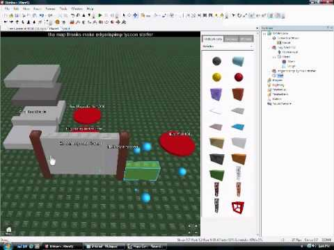 roblox how to make tycoon buttons